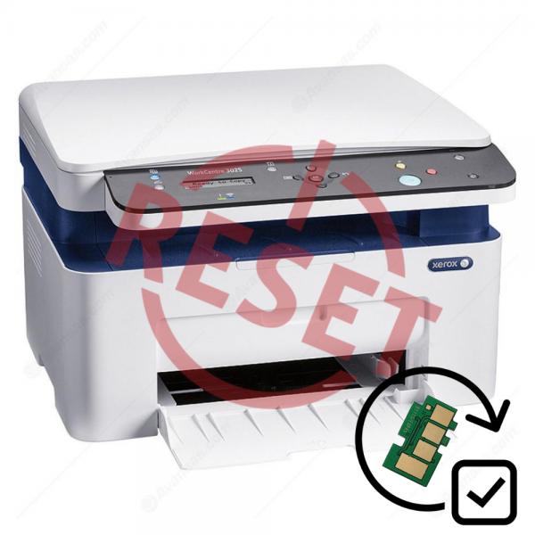 Xerox WC-3025BI Yazıcı Reset
