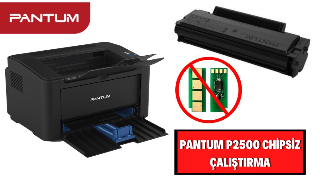 Pantum P2500 Yazıcı Reset